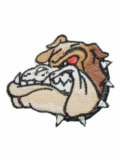 Aufnäher Bulldog klein