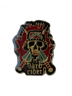 Anstecker Pin Hard Rider