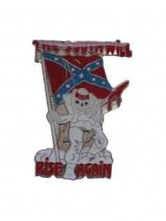 Anstecker Pin The South will Rise again