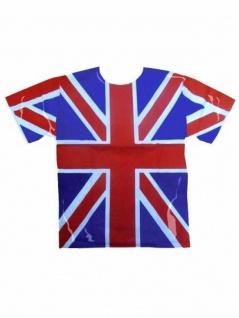 T-Shirt Großbritannien weiß