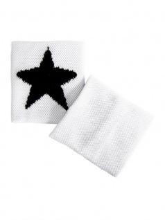 Schweißband Star schwarz