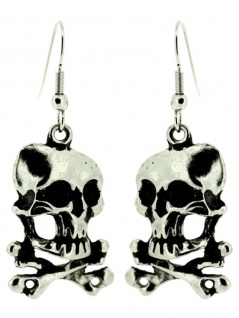 Ohrring Piraten Totenkopf