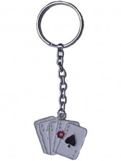 Schlüsselanhänger Spielkarten