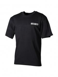 T-Shirt schwarz Security