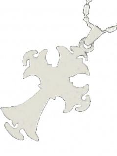 Edelstahl Halskette Kruzifix