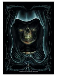 Spiral Full Death Posterfahne