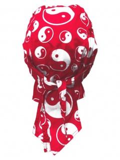 Bandana Cap yin yang rot