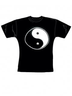 Girl T-Shirt Yin Yang