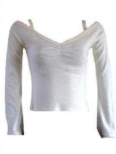 Sweatshirt schulterfrei