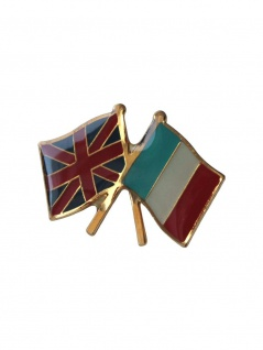 Anstecker Pin Flags England Frankreich