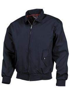 Jacke English Style blau