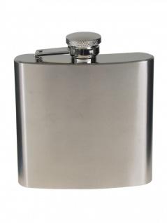 Flachmann chrom matt 170 ml