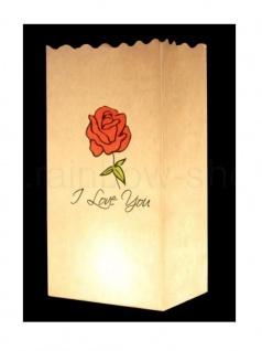 Kerzen Lichtt?te I Love You