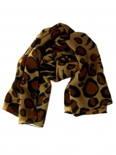 Polyester Tuch Leopard
