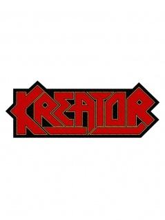 Aufnäher Kreator Logo Cut Out