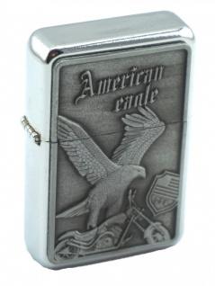 Benzin Sturmfeuerzeug American Eagle Bike