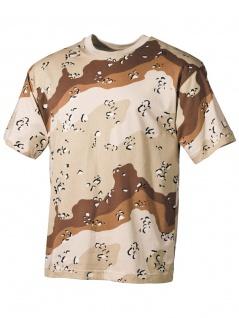 US Militär T-Shirt Desert 6 Farben