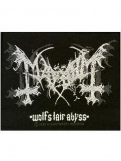 Aufnäher Mayhem Wolfs Lair Abyss