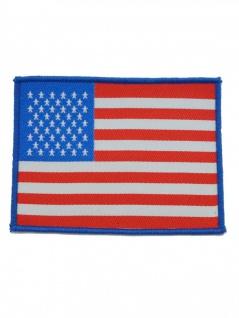 Aufnäher USA blau
