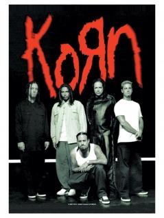 Korn Poster Fahne Hanger