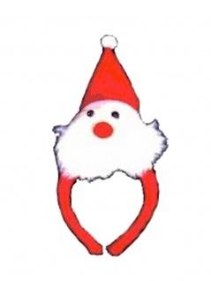 Weihnachts Haarreifen Nikolaus
