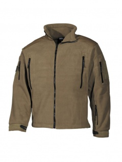 Fleece Jacke coyote tan MFH-Mission