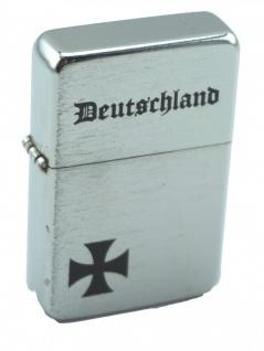 Benzin Sturmfeuerzeug Deutschland Iron Cross