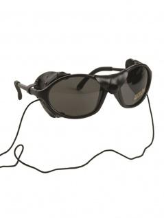 Schnee Gletscherbrille schwarz