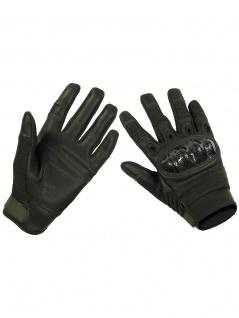 Handy Handschuhe Biker oliv