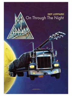 Def Leppard Poster Fahne
