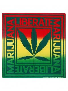 Bandana Liberate Marijuana