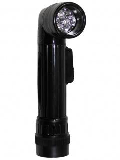US Army Taschenlampe mittel schwarz LED