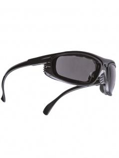Antifog Sonnenbrille mit Etui schwarz