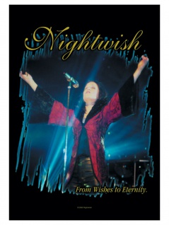 Nightwish Poster Fahne from Wishes to Eternity
