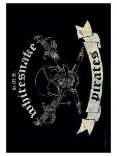 Whitesnake Poster Fahne Pirate