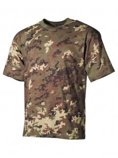 US Militär T-Shirt vegetato