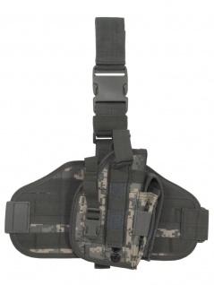 Pistolenbeinholster Molle AT digital