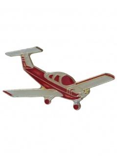 Anstecker Pin Cessna Rot Weiß