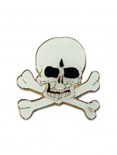 Anstecker Pin Indischer Totenkopf