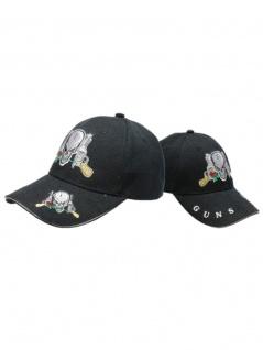 Baseball Cap Skull Guns - Vorschau