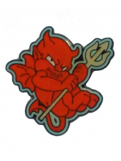 Emaille Pin Devil