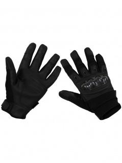 Handy Handschuhe Biker schwarz