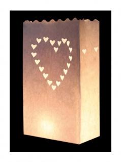 Kerzen Lichttüte Herz