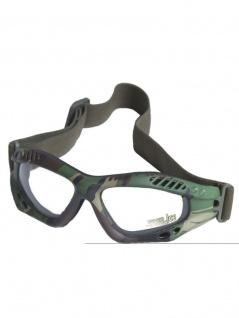 Biker Commando Schutzbrille woodland klar cpq5ZAs5m