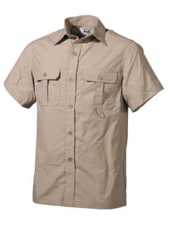 Kurzarm Outdoor Hemd khaki