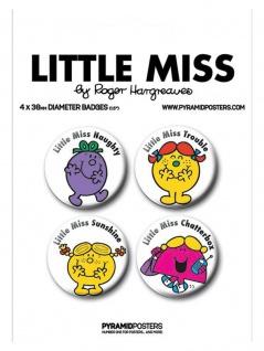 Button Set Little Miss