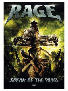 Rage Poster Fahne Speak of the Dead