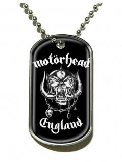 Erkennungsmarke Mot?rhead England Dog Tag Halskette