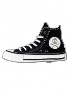 Gürtelschnalle Schuh schwarz