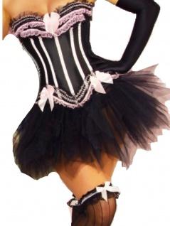 kurzer Petticoat Rockabilly Tüllrock schwarz